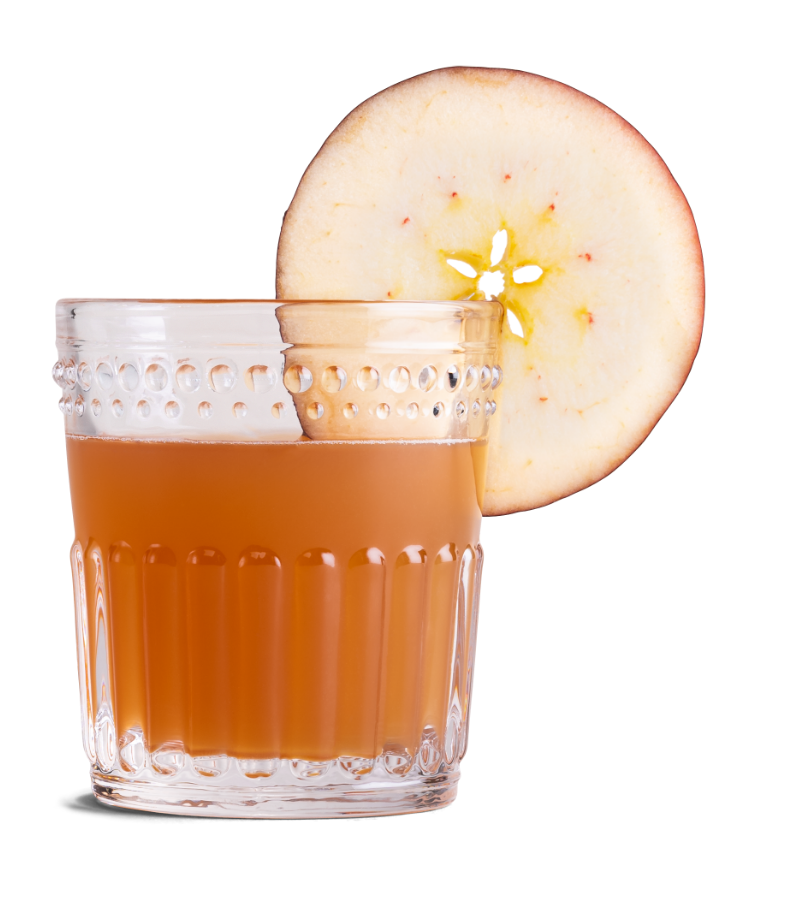 Maple Apple Cider made with Canadian Mist