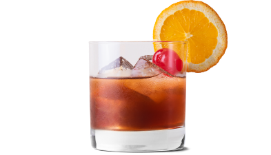 Old Fashioned made with Canadian Mist