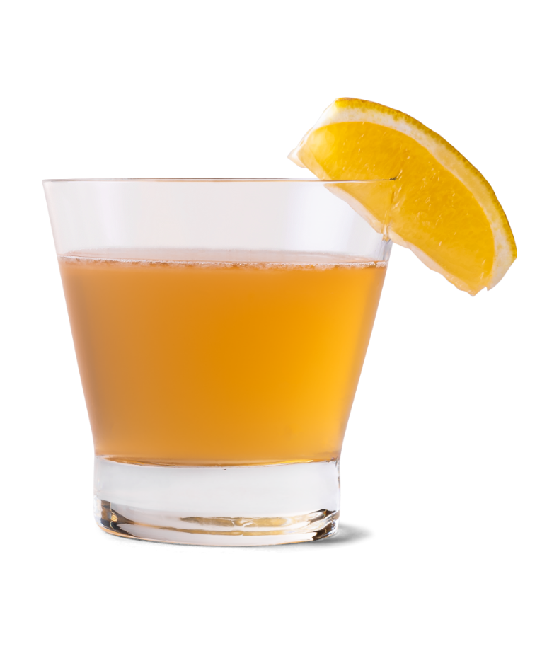 Whiskey Sour made with Canadian Mist